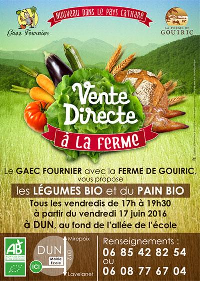 eba002ceb45 Vente directe legumes et pain Bio Dun